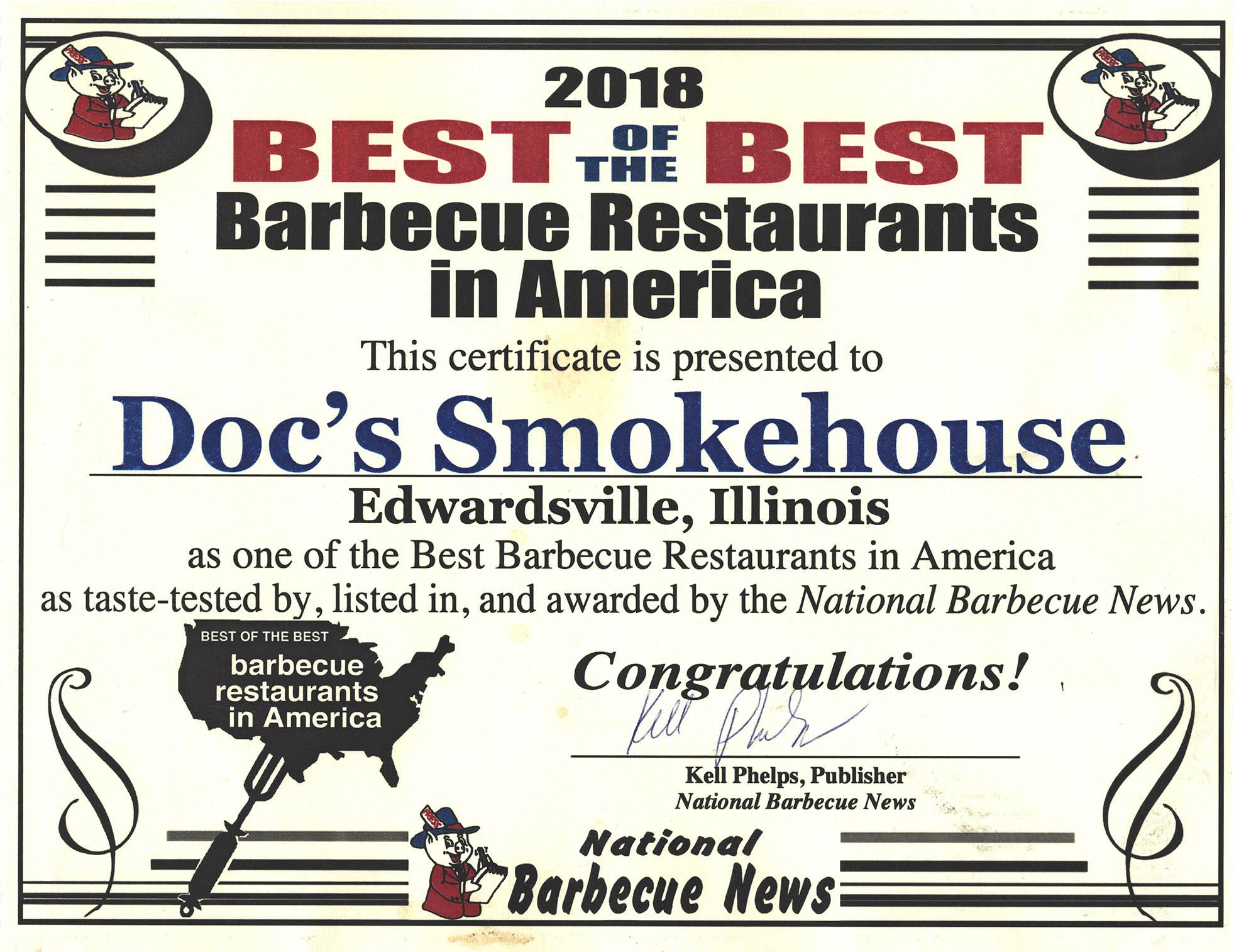 Doc S Smokehouse Championship Barbecue